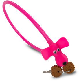 Cube RFR HPS Bike Lock Dog pink